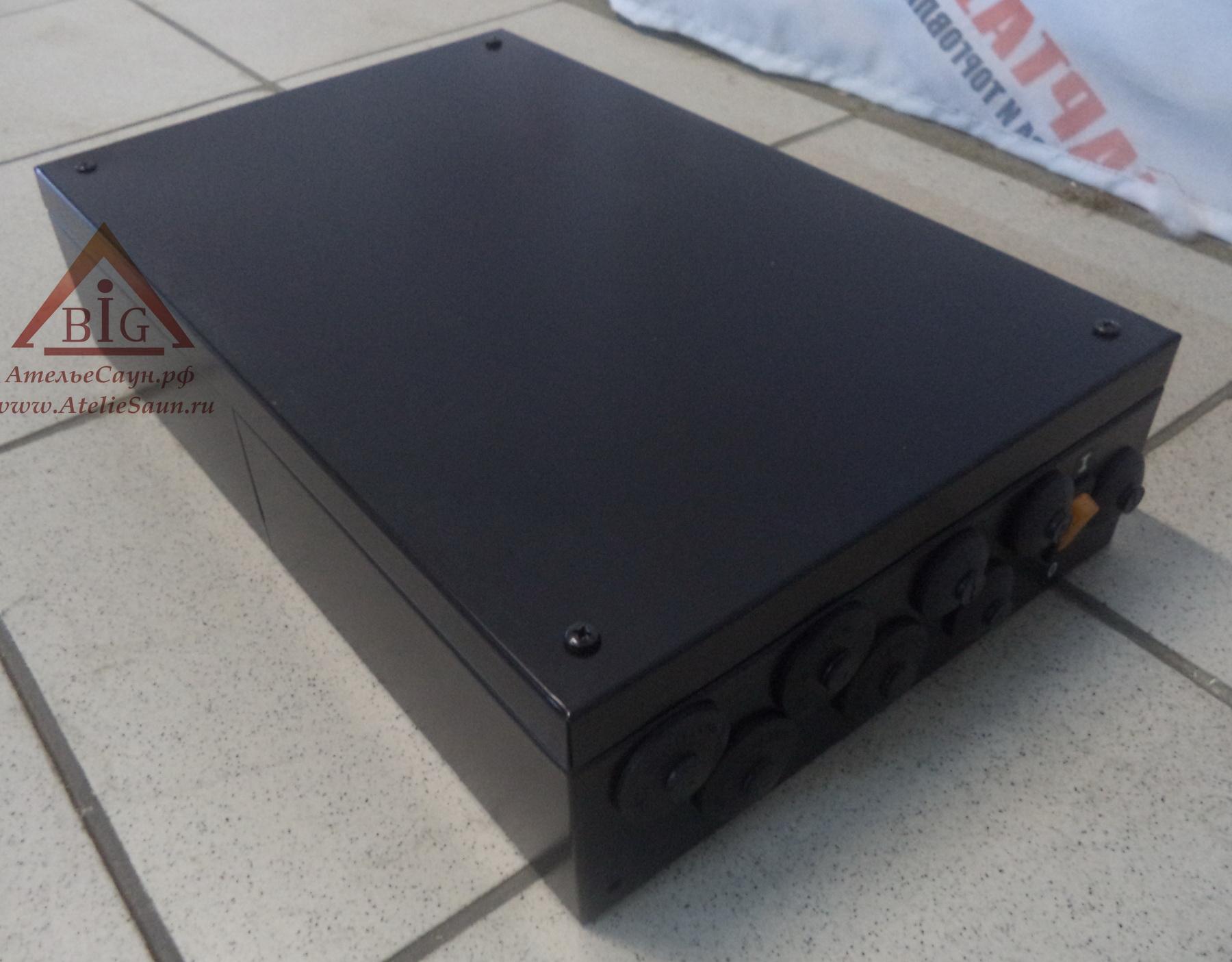 Контакторная коробка Helo WE 5 (для печей 18-26 кВт, черная)