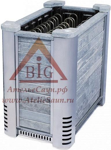 Электрокаменка Sawo Altostratus ALTO-120 N (без пульта, облицовка талькохлорит)