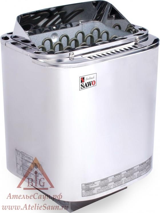 Электрическая печь Sawo Nordex Combi NRC-80 NS-Z (без пульта, с парогенератором)