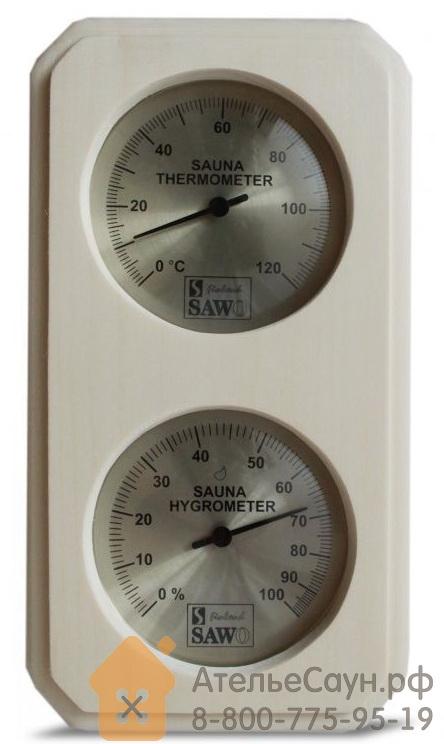 Термогигрометр для бани Sawo 221-THVА