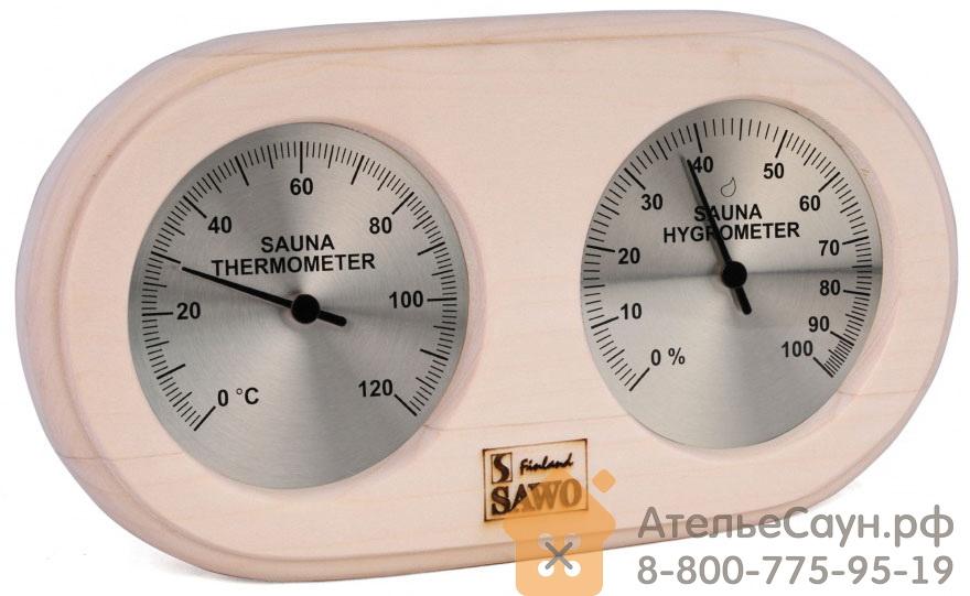 Термогигрометр для бани Sawo 222-THА