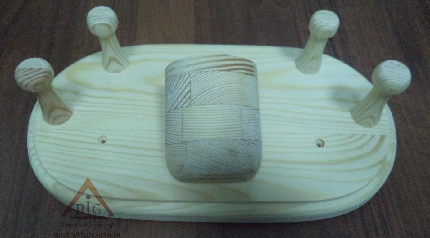 Вешалка Sawo 580 (сосна, с открывашкой)