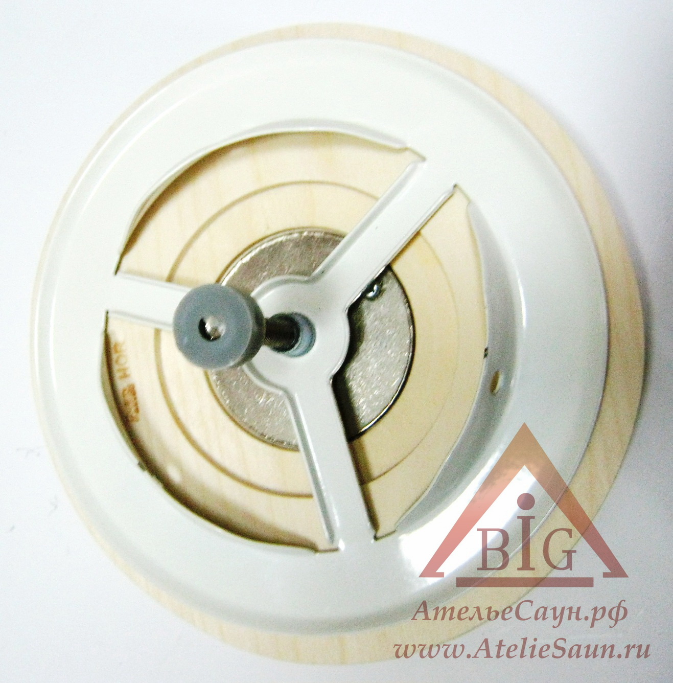 Вентиляционная заглушка Sawo 631-А (D 100 мм, осина)