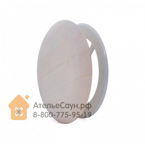 Вентиляционная заглушка Pisla (D 125 мм, липа)