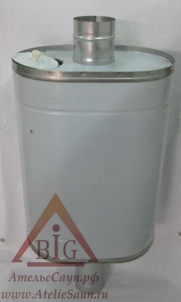 Бак для бани из нержавейки, 73 (на трубу D 105 мм)
