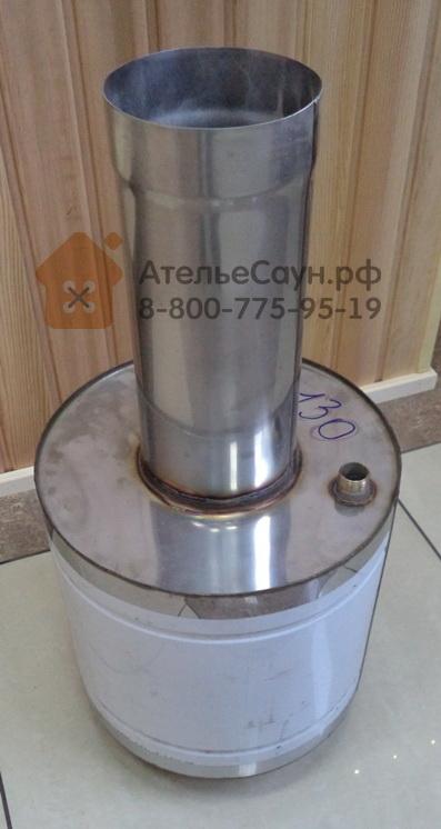 Теплообменник на трубу банной печи Паяный теплообменник ECO AIR NB 758 Уфа