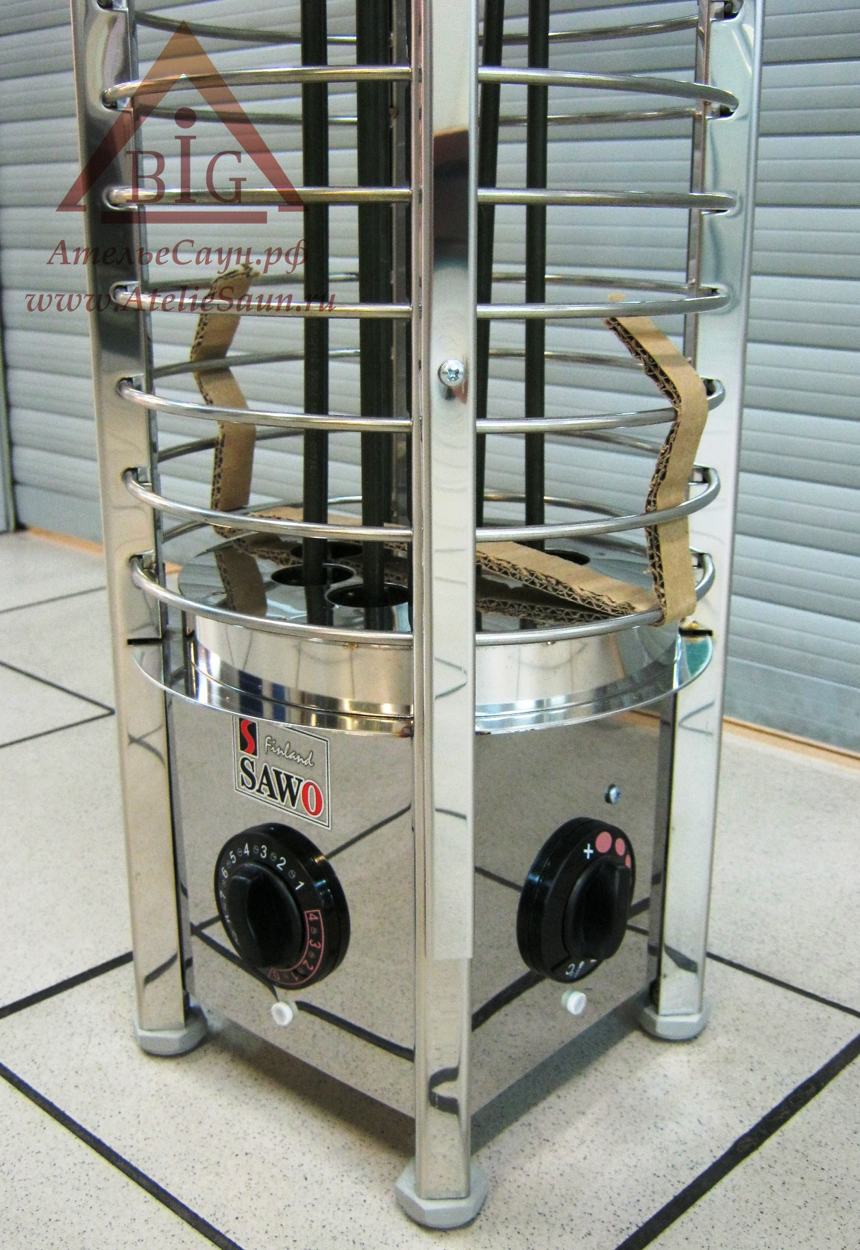 Электрическая печь Sawo Tower TH3-60 NB (с пультом)