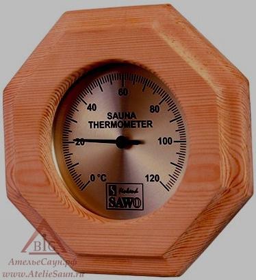Гигрометр для бани Sawo 240-НD