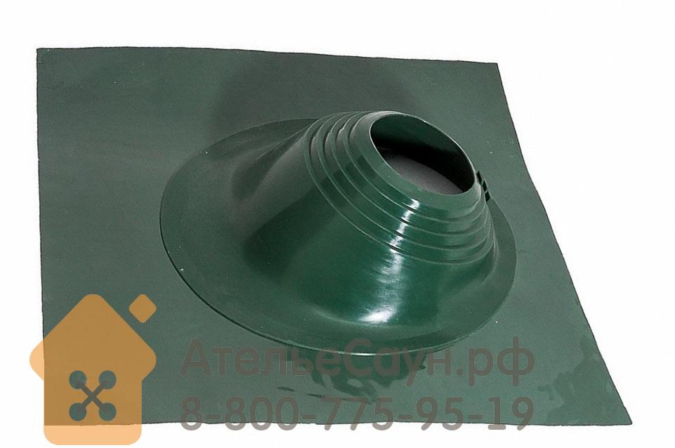 АтельеСаун Проходка кровли Мастер Флеш YS-06 угловой зеленый (силиконовый, D 203-280 мм)