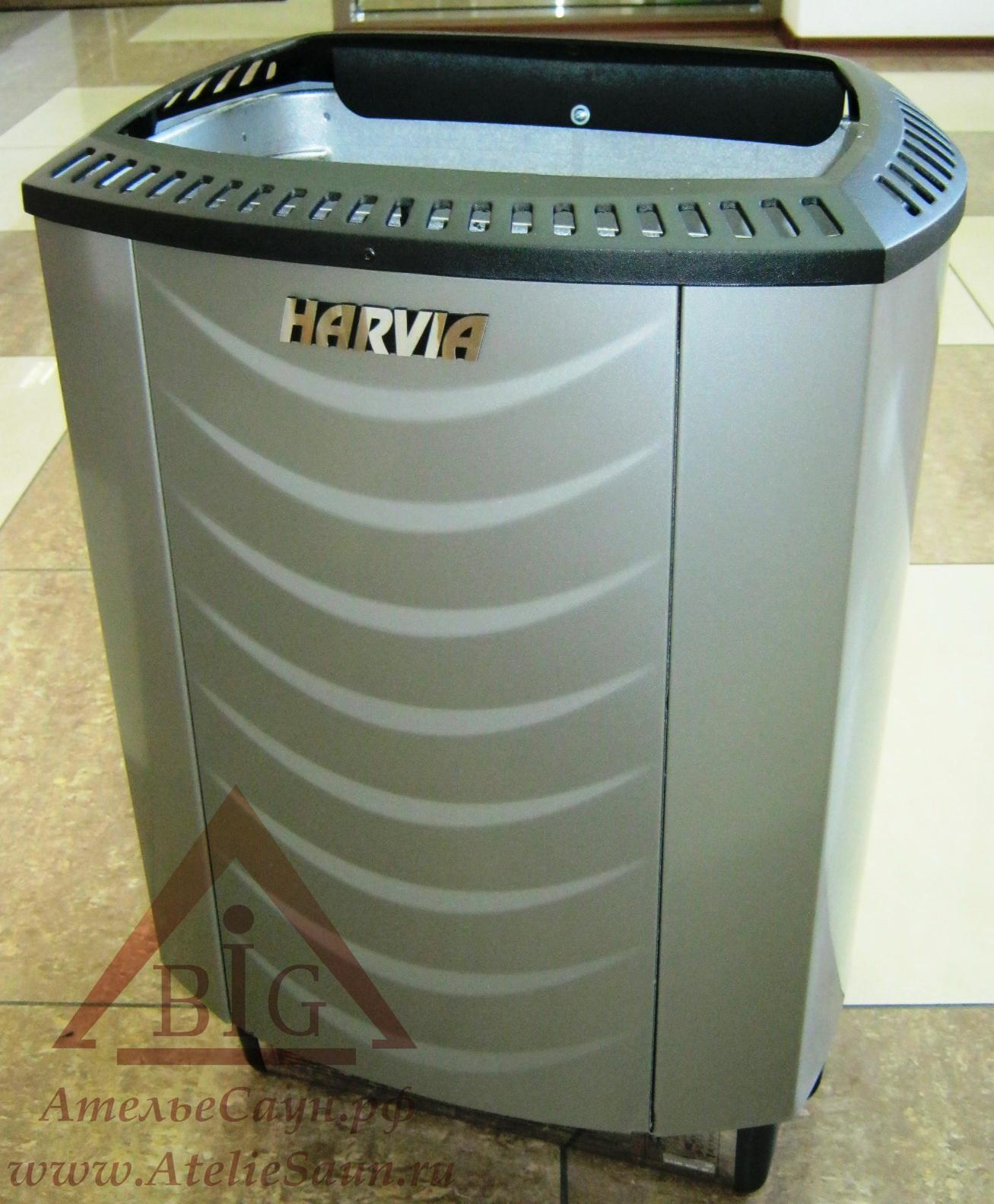 Электрическая печь Harvia Sound M 90 E Platinum (без пульта)