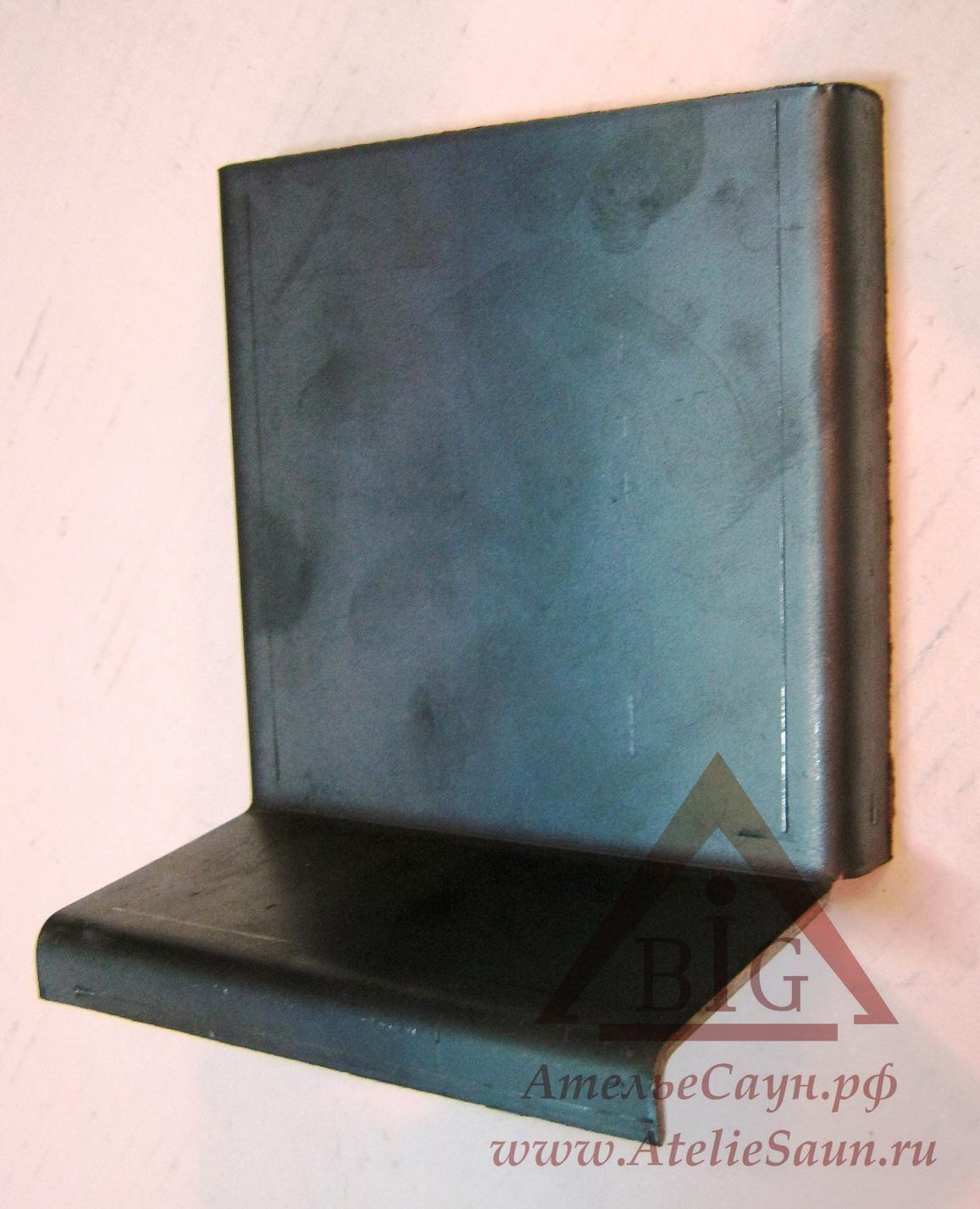 Пластина дожига для печей Kastor KL-16 (защита задней стенки топки, арт. 098071)