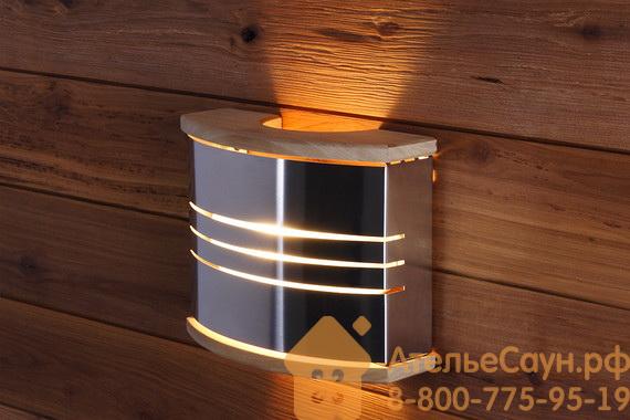 Светильник для сауны Harvia SAS21106 (с ограждением, сталь)