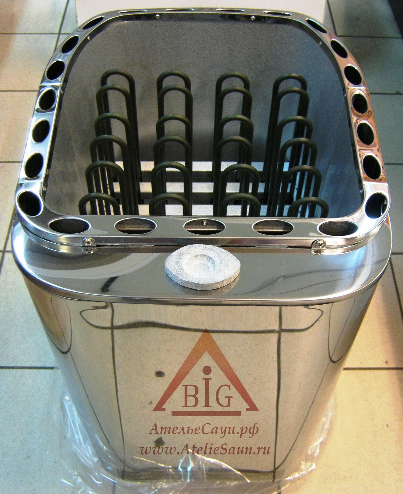 Электрическая печь Sawo Savonia Combi SAVC-90 N-Р (без пульта, с парогенератором)