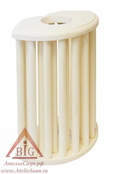 Ограждение для светильника Sawo 915-VA (вертикальное, осина)