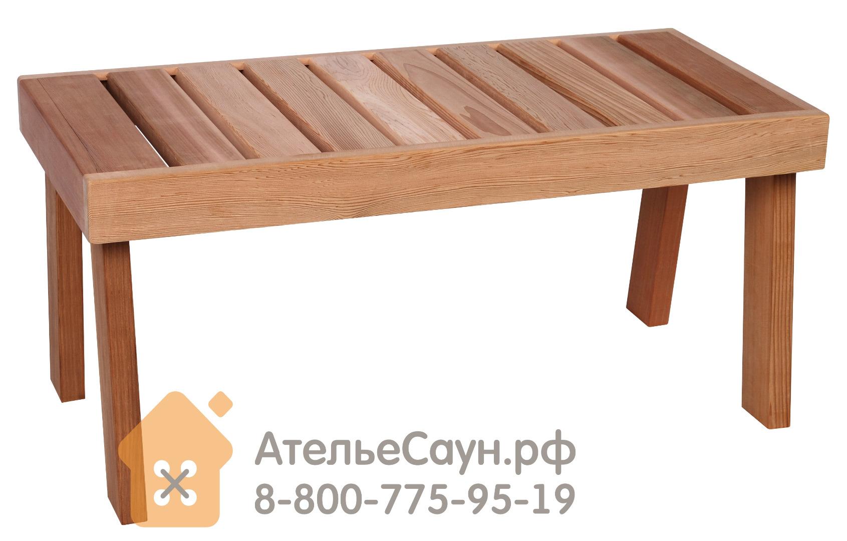 Скамейка для сауны Sawo 521-D (кедр)
