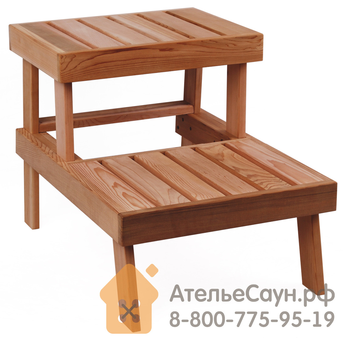 Скамейка для сауны Sawo 524-D (кедр)