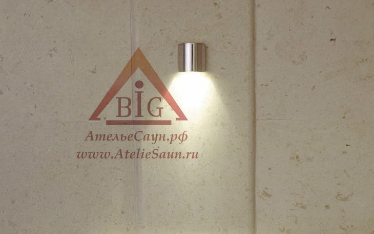 Светильник для сауны Cariitti SY (1545030, нерж. сталь, требуется 1 оптоволокно D=4-6 мм)