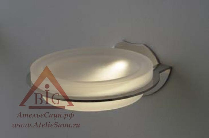 Мыльница Cariitti SC-100 LED (1545607, IP44, матовое стекло, требуется блок питания)