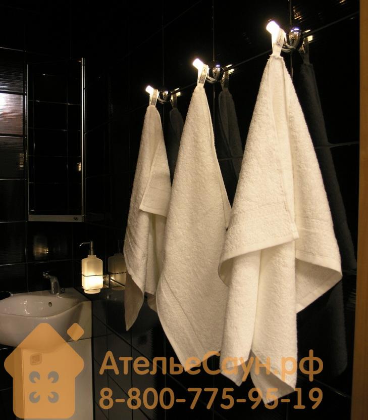 Крючок для полотенца Cariitti CRB-30 LED (1545677, матовое стекло, требуется блок питания)