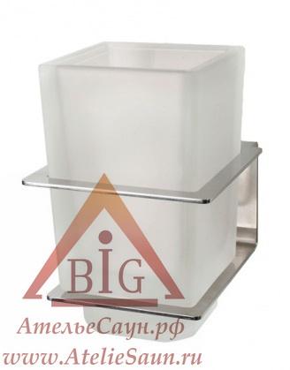 Стакан для зубной щетки Cariitti TBC65 LED (1545667, матовое стекло, требуется блок питания)