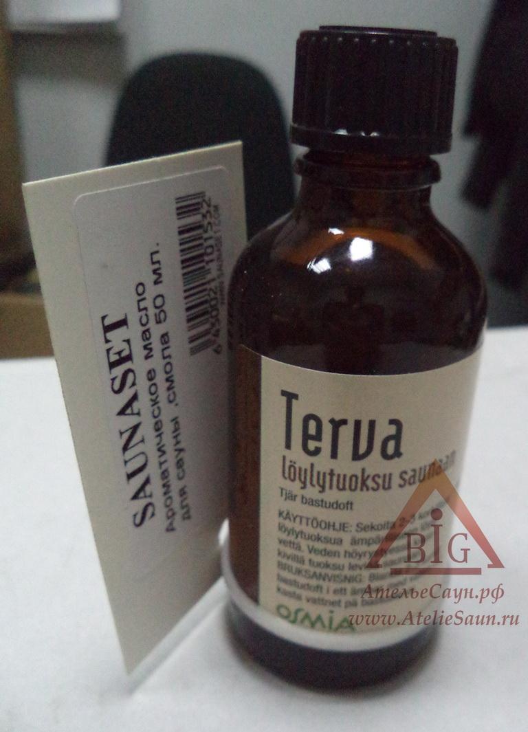 Ароматическое масло смола SaunaSet №153