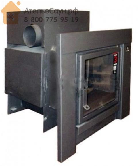 Печь для бани Kastor KSIS 37 TS (с боковым выходом дымохода, черная рамка, без кожуха, арт. 083372)