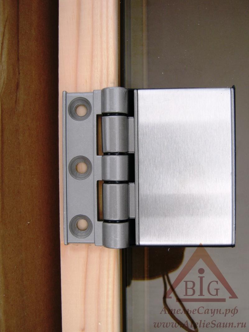 Дверь для сауны Tylo DGB 8x19 (бронза, сосна, арт. 91031510)