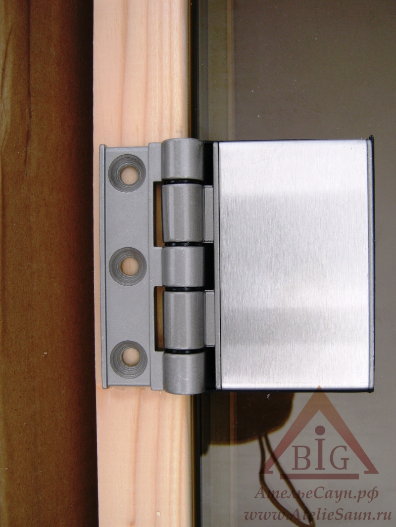Дверь для сауны Tylo DGB 8x20 (прозрачная, сосна, арт. 91031535)