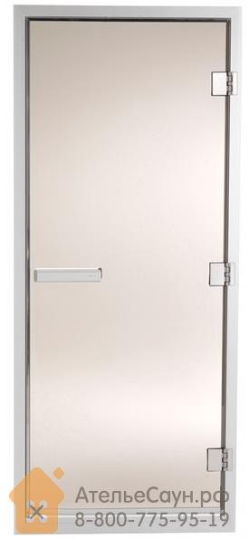 Дверь для турецкой парной Tylo 60 G (778х1870 мм, бронза, белый алюминий, арт. 90912003)