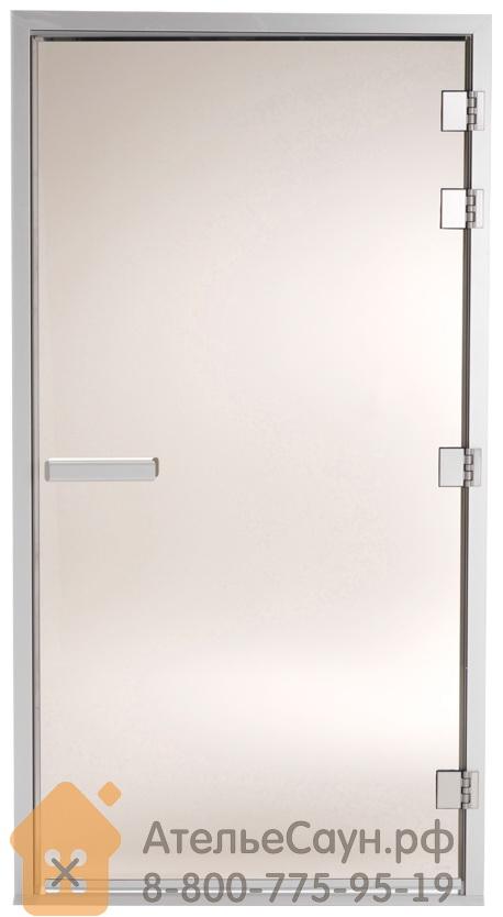 Дверь для турецкой парной Tylo 101 G (1010х1870 мм, правая, белый алюминий, арт. 90912027)