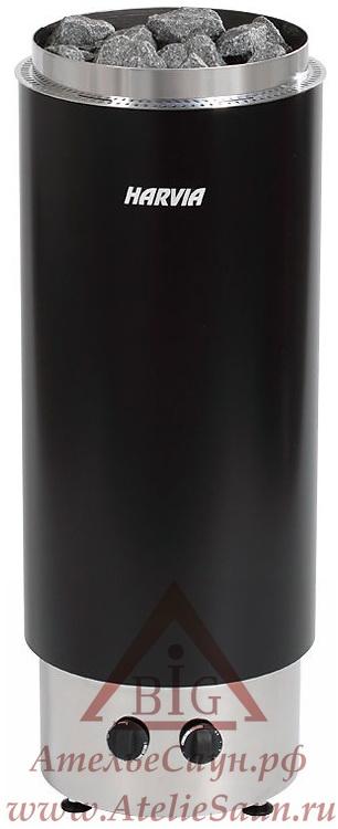 Печь для сауны Harvia Cilindro PC 90 F (со встроенным пультом)