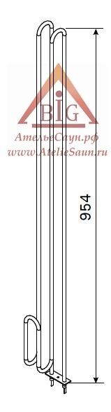 ТЭН Harvia ZRH-249 (3000 W, для печи Kivi PI 90)